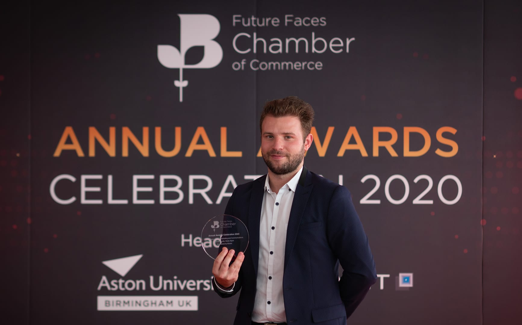 Daniel Nikolla, 27, has been named the Future Face of Sales, Marketing and Communications in the Future Faces Awards 2020